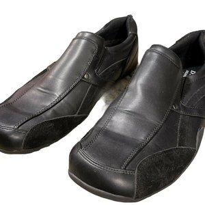 Men's Black Deer STAGS Work Shoes Size 9.5 M